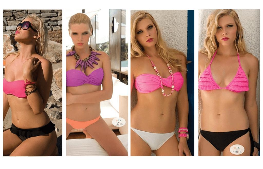 Mismatched Bikinis